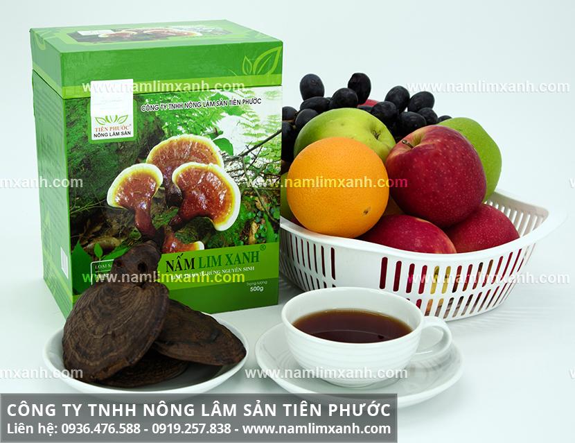 Bán nấm lim xanh tại Hà Nội với giá nấm cây lim xanh rừng Tiên Phước