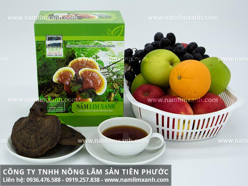 Công ty Nấm lim xanh Đại ngàn Tiên Phước bán nấm cây lim chất lượng