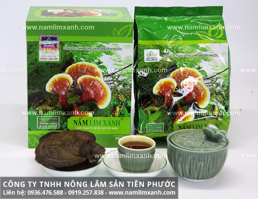 Công ty Nấm lim xanh Đại ngàn Tiên Phước chuyên bán nấm lim chất lượng