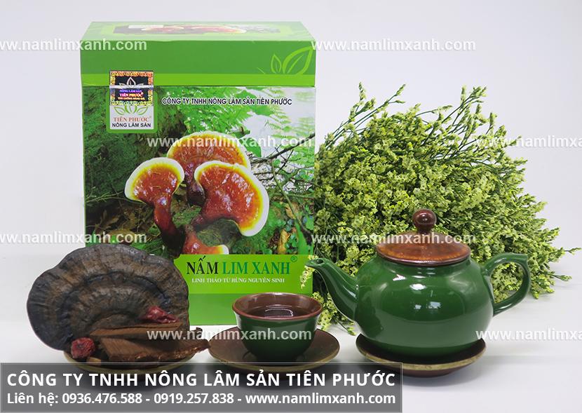 Công ty Nấm lim xanh Đại ngàn Tiên Phước cung cấp nấm lim chất lượng