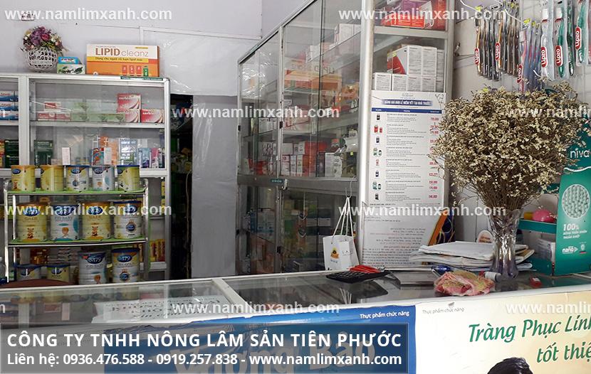 Đại lý bán nấm Công ty Nấm lim xanh Đại ngàn Tiên Phước có ở Cao Bằng