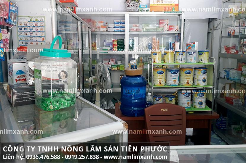 Giá bán nấm lim xanh tại Huế của công ty được niêm yết và công khai