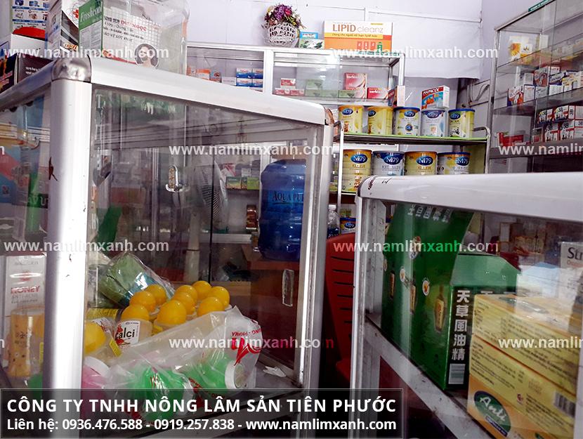 Giá mua nấm lim xanh tại đại lý ở Đà Nẵng được niêm yết công khai