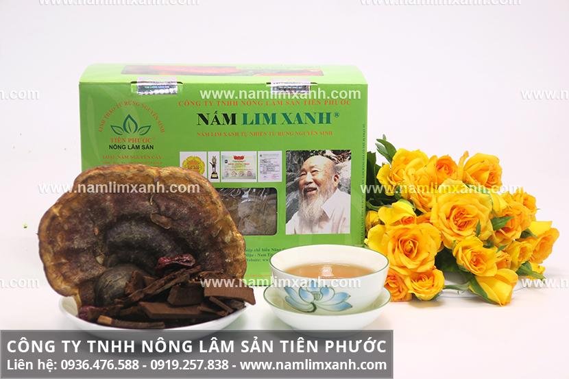 Mua nấm lim xanh chính hãng ở Bình Thuận và cách chế biến nấm lim xanh