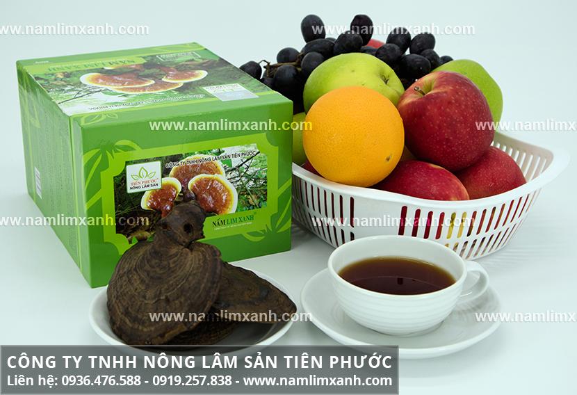 Sản phẩm của Công ty Nấm lim xanh Đại ngàn Tiên Phước chất lượng tốt