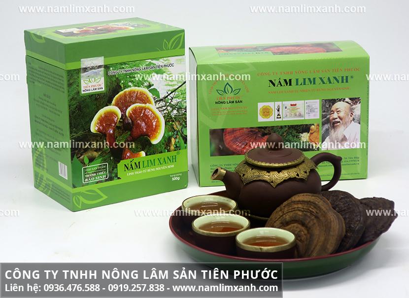 Tác dụng của nấm lim xanh ở An Giang và cách chế biến nấm lim xanh