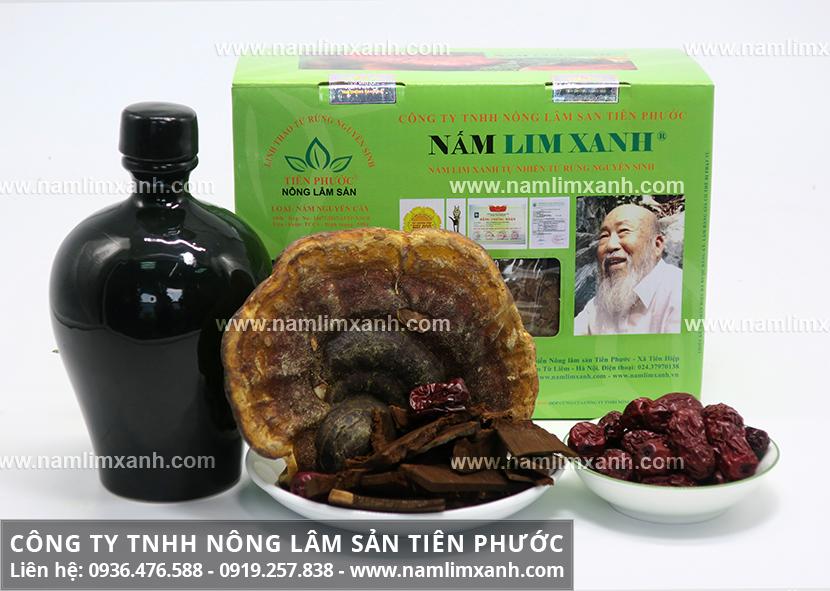 Cách uống nấm lim xanh rừng Tiên Phước Quảng Nam cần kiêng gì?