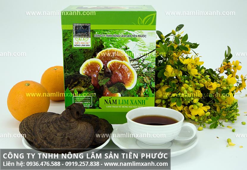 Cách dùng nấm lim xanh Tiên Phước và cách sắc nấm lim rừng Tiên Phước
