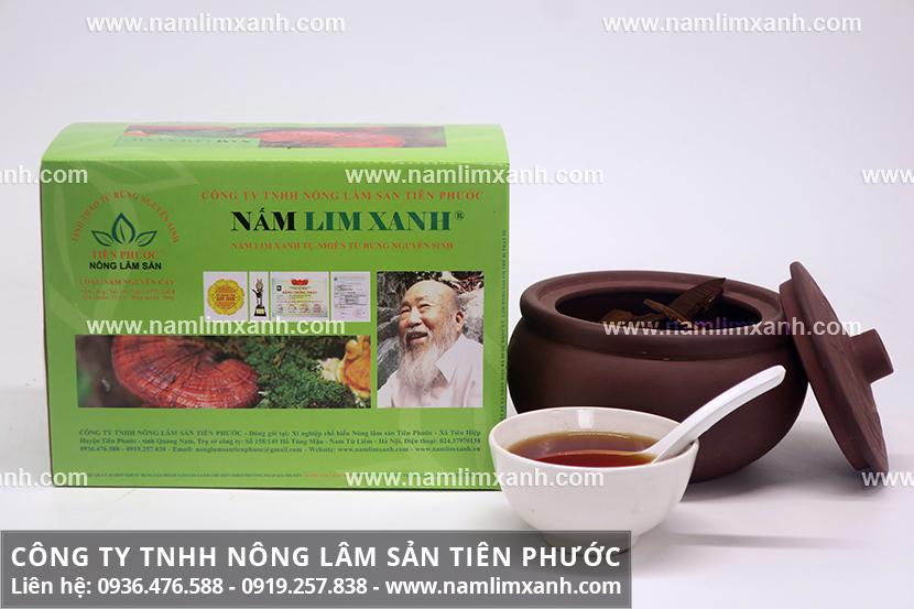 Cách sử dụng nấm lim xanh hãm trà và các phương pháp dùng nấm lim rừng