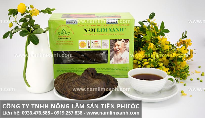 Nấm lim xanh Tiên Phước và cách nấu nấm lim rừng Tiên Phước Quảng Nam