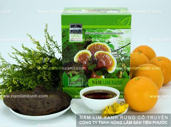 Cách uống nấm lim xanh rừng Thanh Thiết Bảo Sinh cho bệnh