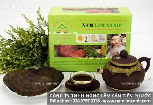 Loại nấm lim xanh nguyên cây có giá bán tương xứng chất lượng