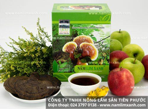 Cách sắc nước nấm lim xanh Quảng Nam và nấu nấm lim rừng